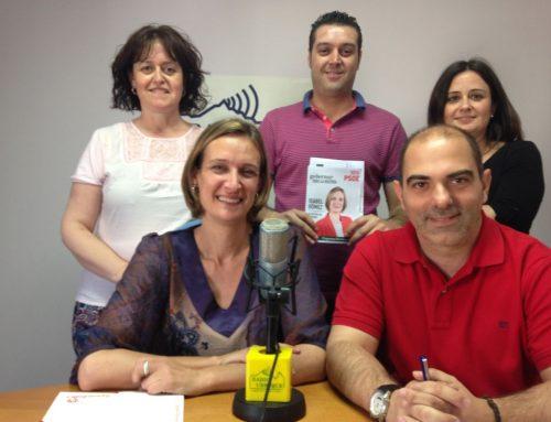 La candidatura socialista cierra el turno de programas electorales de Radio Ubrique
