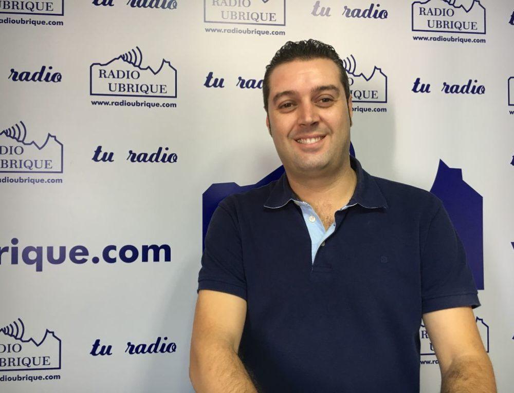 """Fernández Rivera habla en el programa """"La Mañana"""" de Radio Ubrique de la agenda cultural de Ubrique durante las próximas semanas"""