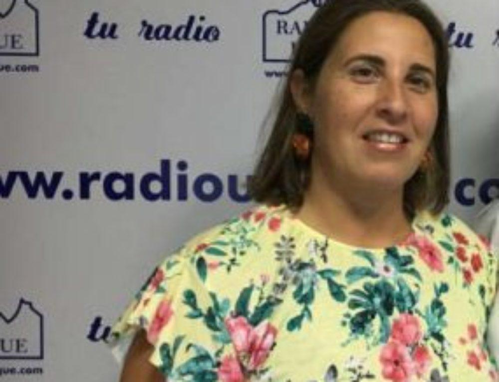 Rueda de prensa de Virginia Bazán, aclarando situación de sanidad en Ubrique frente a las críticas del Partido Popular