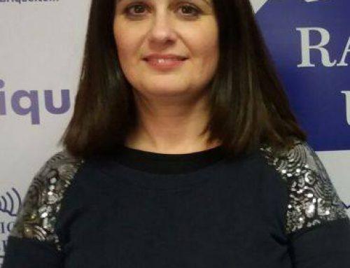 Magdalena Burdallo informa en rueda de prensa sobre actividades en este mes