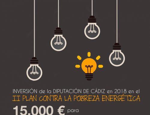 El Ayuntamiento de Ubrique renueva el convenio con la Diputación Provincial de Cádiz para el desarrollo del Fondo Contra la Pobreza Energética