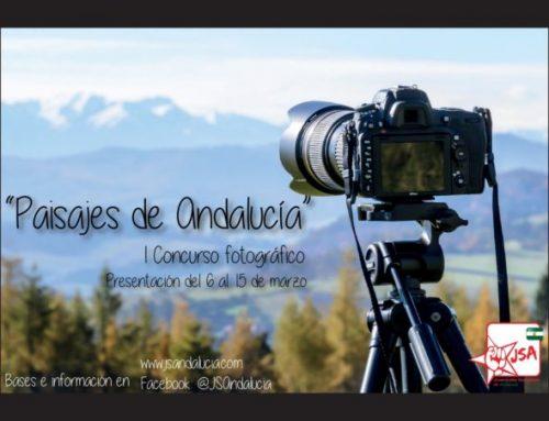 """JSA organiza la I Edición del Concurso fotográfico """"Paisajes de Andalucía"""""""