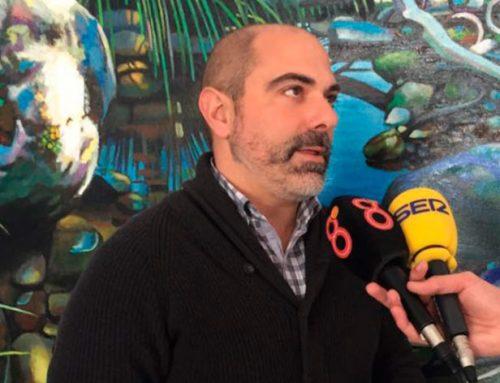 Manuel Ángel Chacón informa en los medios sobre los efectos de Emma en Ubrique