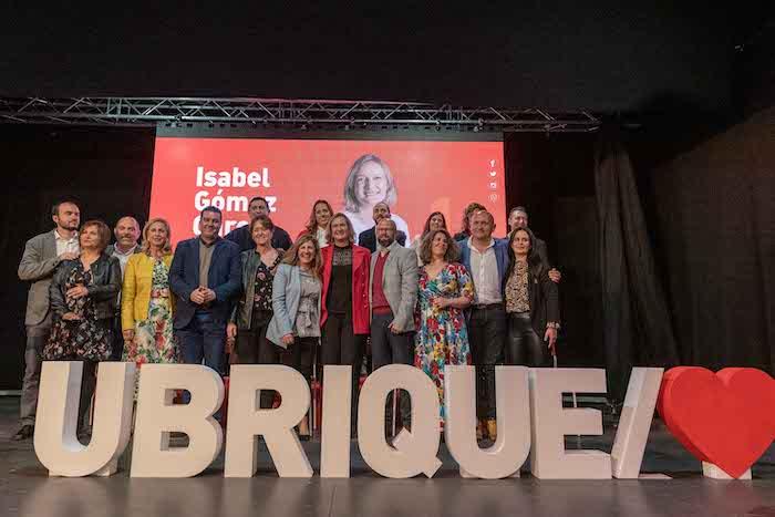 Presentación candidatura 2019 Psoe-Ubrique Final del Evento